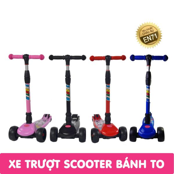 [Deal Sập Sàn 2020] Xe trượt scooter Babyfast 3 bánh phát sáng vĩnh cửu, rèn luyện vận động - tăng chiều cao cho trẻ 2-6 tuổi. Bảo hành 12 Tháng. 1 đổi 1