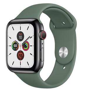 [Like Auth] Đồng Hồ Thông Minh - Smart Watch 1 1 - AppleWatch Series 5 - Viền Nhôm - Dây Cao Su - Chống Nước - Màn Oled - Nghe Gọi Trực Tiếp - Đo Nhịp Tim - Phát Hiện Té Ngã - La Bàn - Phù Hợp Mọi Lứa Tuổi - Đẳng Cấp Thời Trang thumbnail