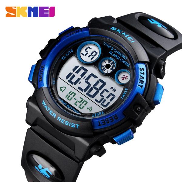 Nơi bán [HCM]Đồng hồ trẻ em bé trai bé gái SKMEI 1451 Chống Nước 50M Có Đồng Hồ Đếm Ngược