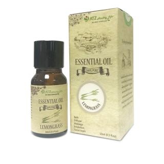 Lọ tinh dầu 10ml ATZ1346 Lemongrass (Sả) (100% thiên nhiên, Xuất xứ Ấn Độ) thumbnail