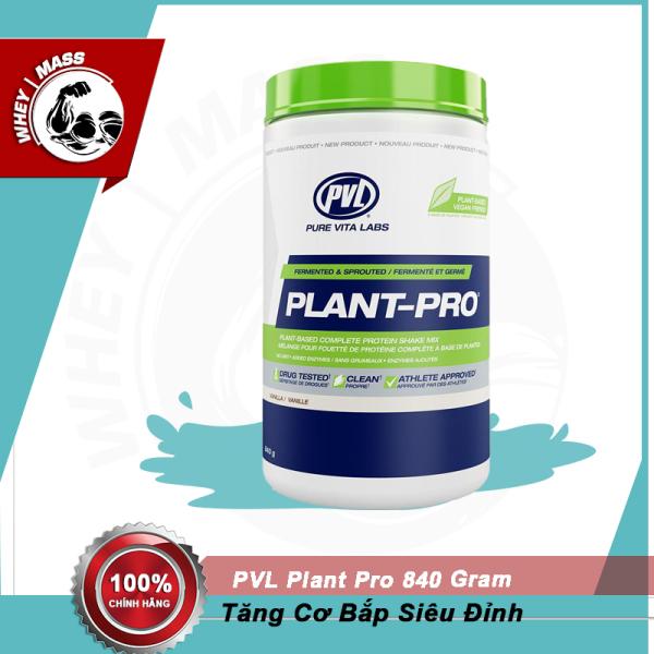 Sữa Dinh Dưỡng Cung Cấp Protein Thực Vật PVL WHEY PLANT PRO 840 GRAM