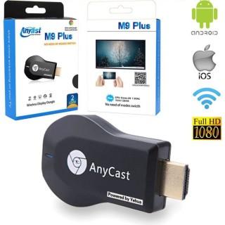Hdmi Anycast không dây M9 Plus Kết nối điện thoại với Tivi, chơi game mobile trên màn hình tivi Hàng cao cấp cực xịn thumbnail
