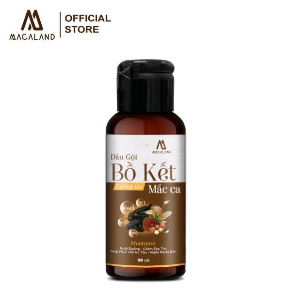 Dầu gội Bồ Kết dưỡng tóc phục hồi hư tổn dầu Macadamia MACALAND dùng cho mọi loại tóc giá rẻ