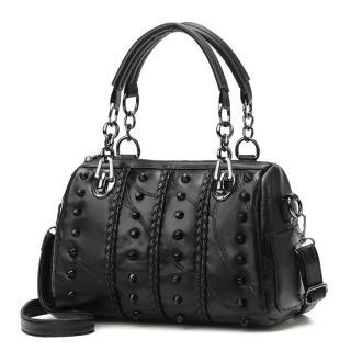 Túi xách da đính hạt cá tính - Chất liệu cao cấp, siêu mịn đẹp, đường chỉ may sắc sảo thumbnail