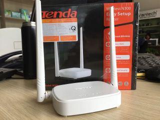 Bộ phát Wifi giá rẻ TENDA 2 RÂU - N301 Tốc độ 300Mbps thumbnail