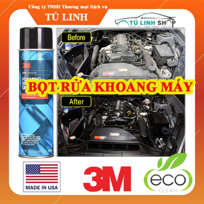 Bọt vệ sinh khoang máy ô tô 3M Foaming Engine Degreaser 08899 - CarSun Store phụ kiện chuyên dành cho xe ô tô