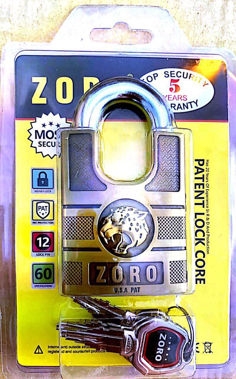 Ổ khóa chống cắt Zoro