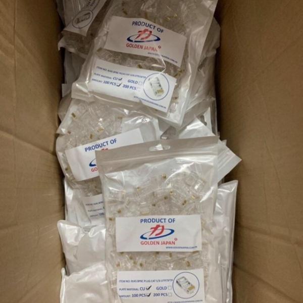 Bảng giá Hạt bấm dây mạng golden japan túi 100 hạt cam kết hàng đúng mô tả chất lượng đảm bảo an toàn đến sức khỏe người sử dụng đa dạng mẫu mã màu sắc kích thước Phong Vũ