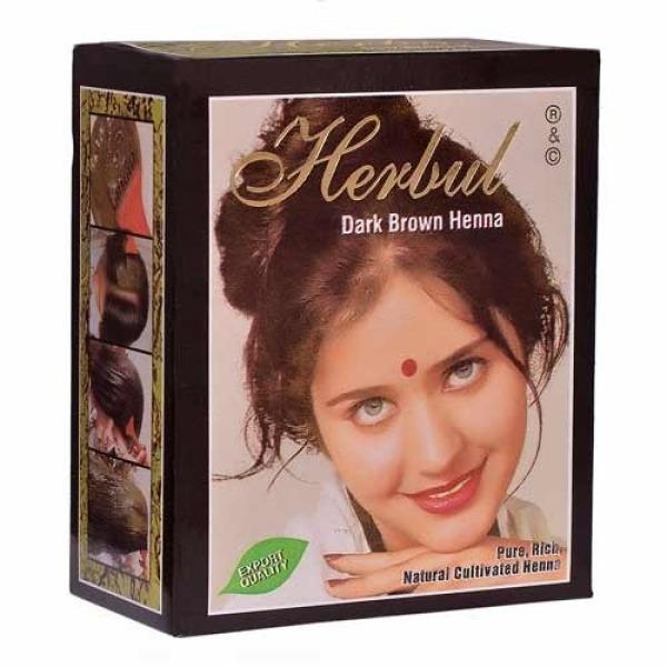 Thuốc nhuộm tóc Ấn độ màu nâu đen