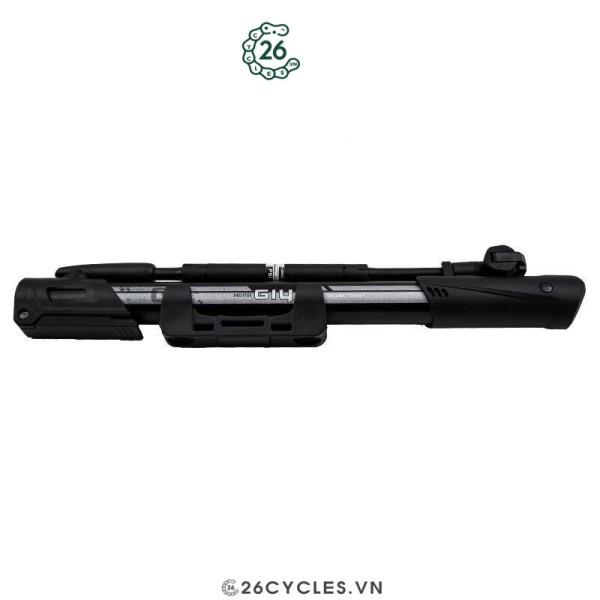 Ống bơm xe đạp mini gắn sườn Giyo GM-641