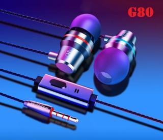 Tai nghe có dây G80 jack 3.5 - Tai phone tích hợp micro cao cấp thumbnail
