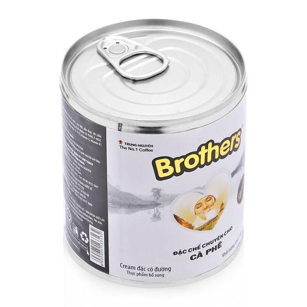 Sữa đặc Trung Nguyên Brother chuyên biệt cho pha cà phê, chất lượng đảm bảo an toàn đến sức khỏe người sử dụng, cam kết hàng đúng mô tả