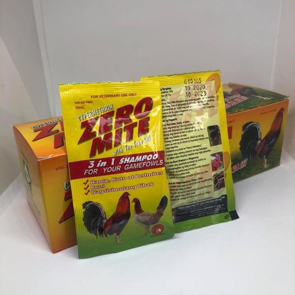 Xà Bông Tắm Gà Zero Mite - Hộp 24 Gói