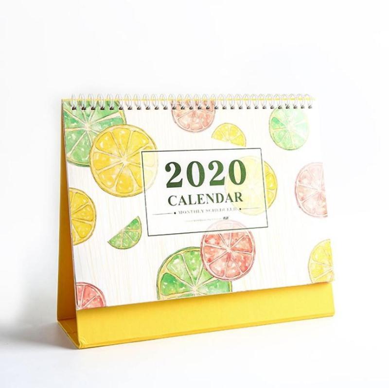 Lịch Để Bàn 2020 (Kèm Sticker Trang Trí)