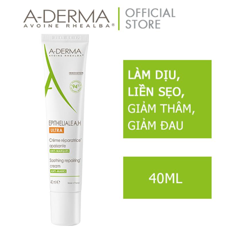 A-DERMA Kem giúp phục hồi thương tổn, liền sẹo EPITHELIALE AH ULTRA SOOTHING CR 40 ml