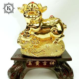 Tượng Heo Vàng Phong Thủy Túi Vàng (VN01) - Mang Đến Sự Sung Túc - Ấm No - Con Cháu Vui Vẻ thumbnail