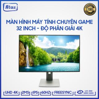 Màn hình máy tính 32 inch 4K ATAS HD320U- Màn hình 32 inch ATAS - Màn hình Gaming 32 inch ATAS Tần số quét 60Hz thumbnail