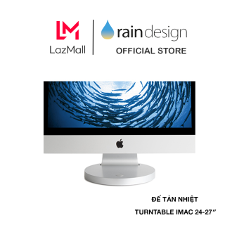 ĐẾ TẢN NHIỆT RAIN DESIGN (USA) I360 TURNTABLE IMAC 24-27 SILVER RD-10033 - HÀNG CHÍNH HÃNG thumbnail