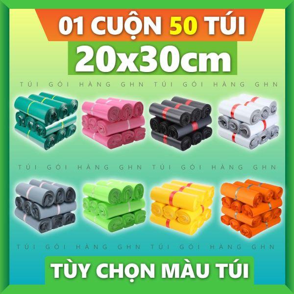 50 Túi Gói Hàng Cao Cấp GHN Size 20x30cm
