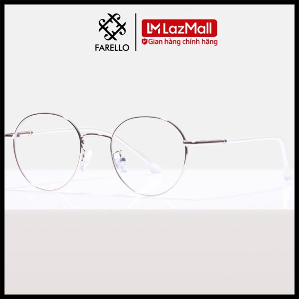 Giá bán Gọng kính cận FARELLO chất liệu kim loại phụ kiện thời trang nam nữ 29120 nhiều màu