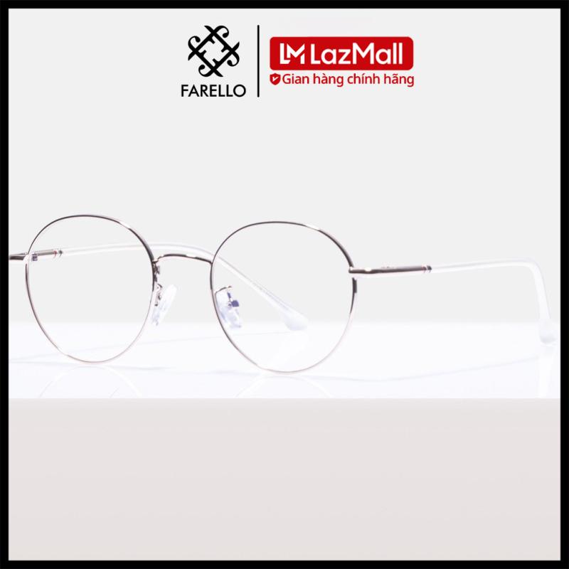 Mua Gọng kính cận FARELLO chất liệu kim loại phụ kiện thời trang nam nữ 29120 nhiều màu