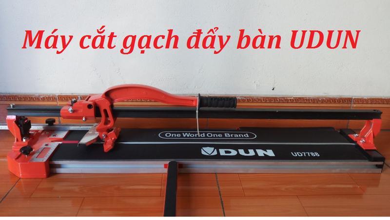 máy cắt gạch đẩy tay 80cm - UDUN UD7788