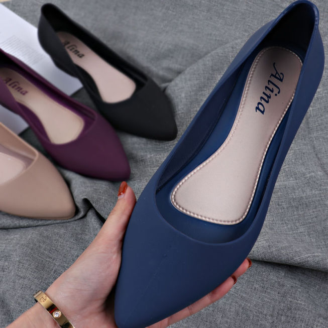 Giày nữ đế bệt mũi nhọn thời trang GN24 giá rẻ