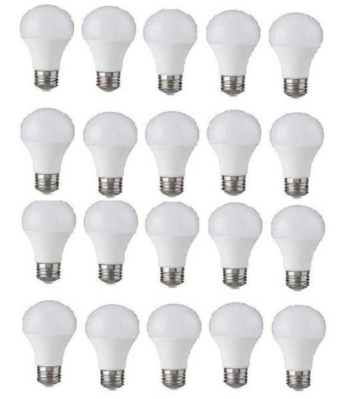 Bộ 20 bóng đèn LED BULB Trụ 12W (Ánh Sáng Trắng)