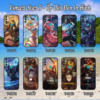 Ốp lưng Vsmart Star 5 - Ốp dẻo đen in hình tướng LQ mobile thumbnail