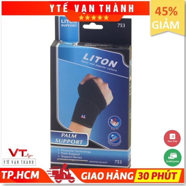 ✅ Băng Thun Bảo Vệ Cổ Tay: Liton 753 (Bó Cổ Tay) - [Y Tế Vạn Thành] - Mã SP: VT0122 cao cấp