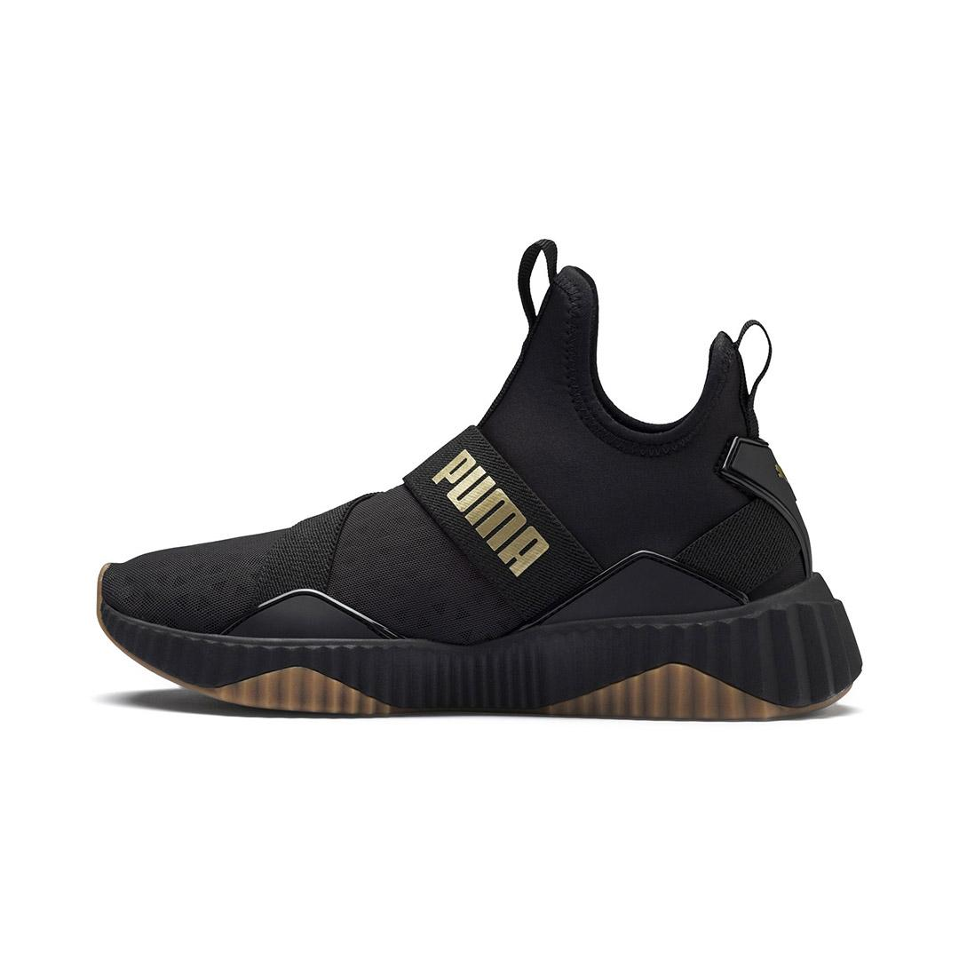 Lazada Khuyến Mãi Khi Mua Giày Sneaker Nữ Puma Defy Mid Sparkle Màu đen