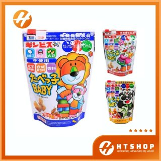 Bánh Ăn Dặm Hình Thú Ginbis DHA Túi Zip 63Gram Nhật Bản thumbnail