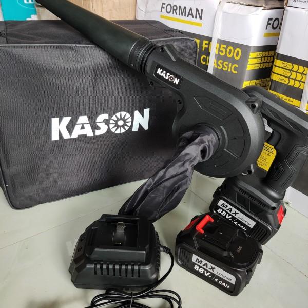 Máy thổi bụi siêu mạnh chạy pin 21v KASON (pin 10 cell)