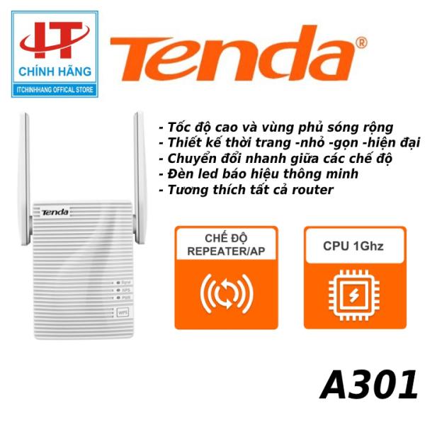 Bảng giá Bộ kích sóng WiFi Tenda A301 2 angten tốc độ N 300Mbps - Microsun Phong Vũ