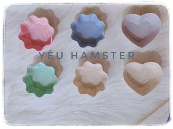 Mẫu mã đẹp- Chén ăn nhỏ cho Hamster