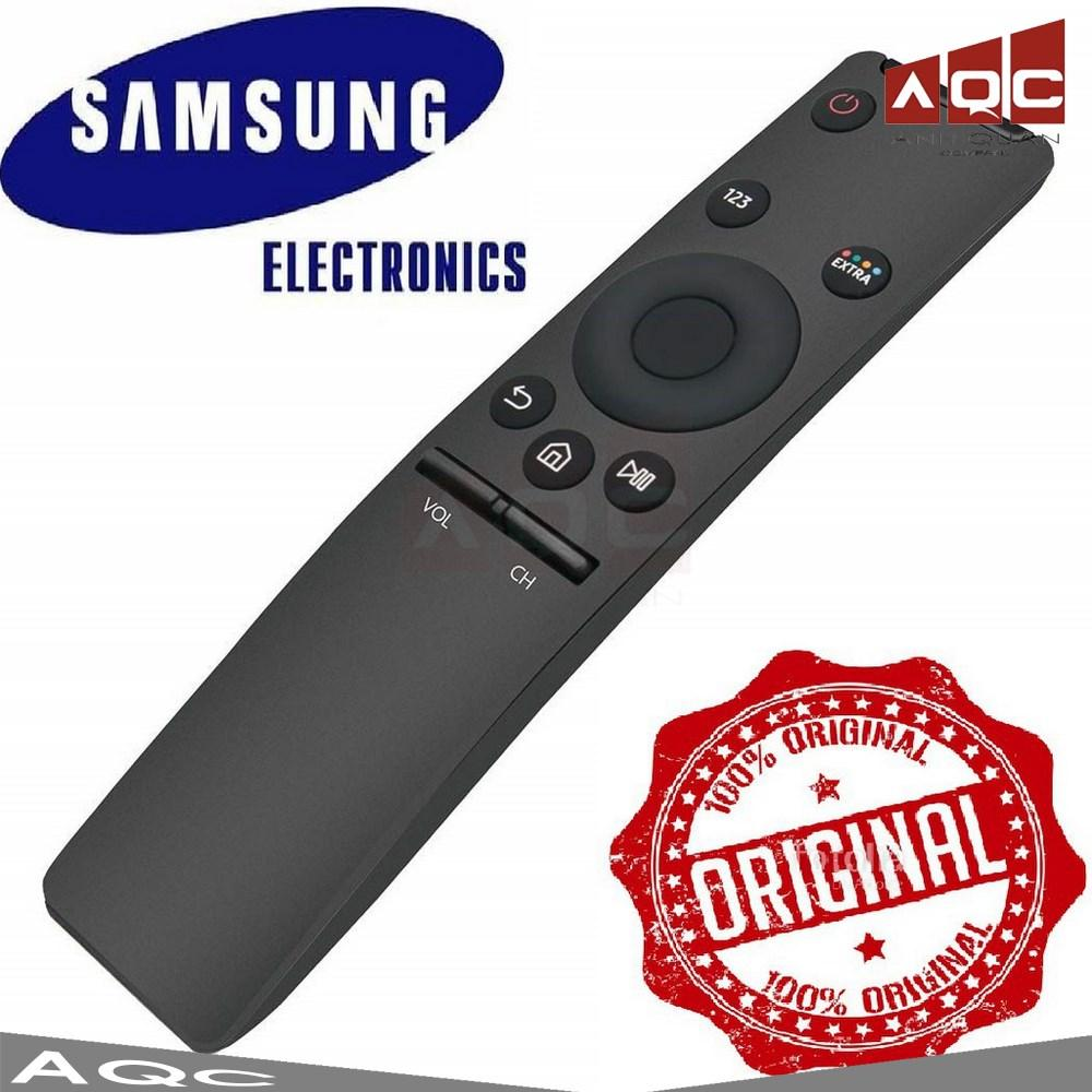 Mã Khuyến Mãi Khi Mua [Khiển Bóc Hộp] Điều Khiển TV Samsung Smart 4K Cong Lưng Đen