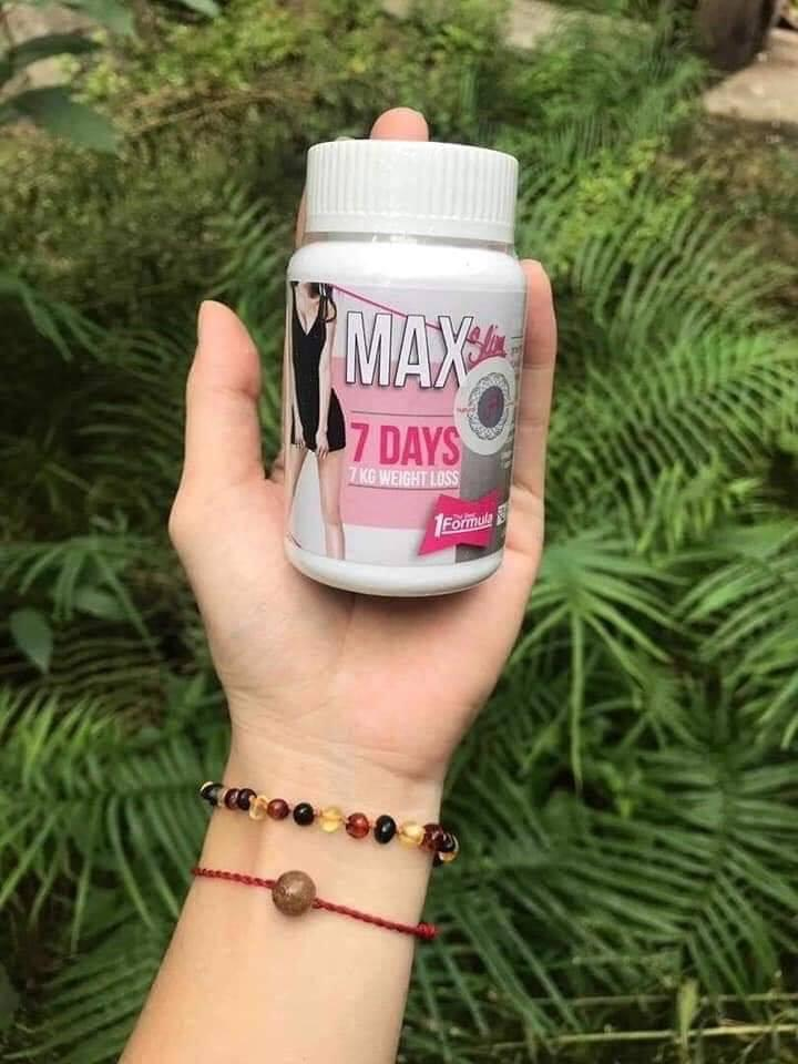 Giảm cân Thái Lan Max Slim 7 Days nhập khẩu