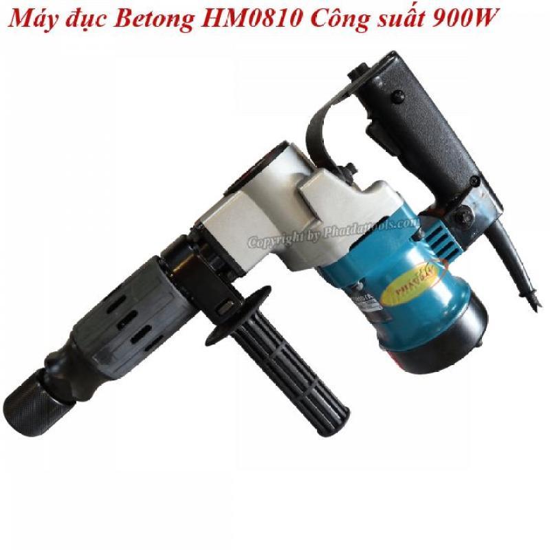 Máy Chuyên Đục Phá Bêtông HM0810 900W-Tặng Kèm 2 Mũi Đục-Bảo Hành 6 Tháng