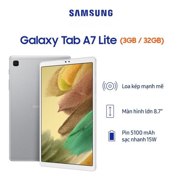 Máy tính bảng Samsung galaxy Tab A7 Lite - Hàng chính hãng - Newseal chính hãng
