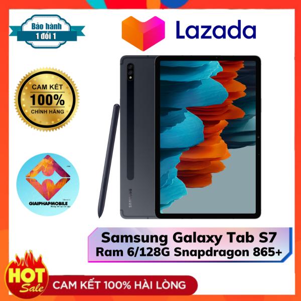 Máy tính bảng Samsung Galaxy Tab S7 Ram 6/128G Snapdradon 750G Pin 8000 mAh 45 W chính hãng