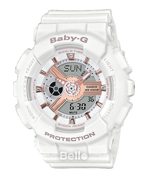 Đồng hồ Casio Baby-G Nữ BA-110RG-7A bảo hành chính hãng 5 năm - Pin trọn đời