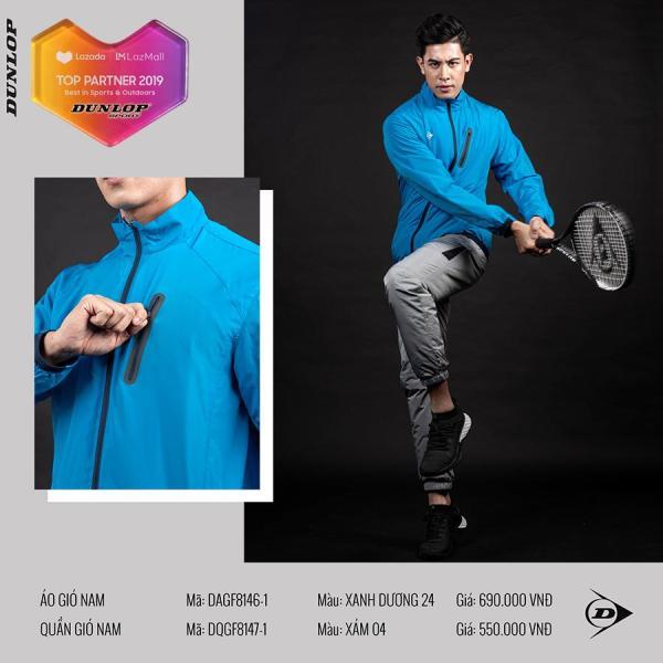 Áo khoác Nam Dunlop - DAGF8146-1 Thương hiệu từ Anh Quốc Đổi trả miễn phí (áo khoác nam, áo gió nam, áo thu đông nam, áo thể thao nam, quần áo thể thao)