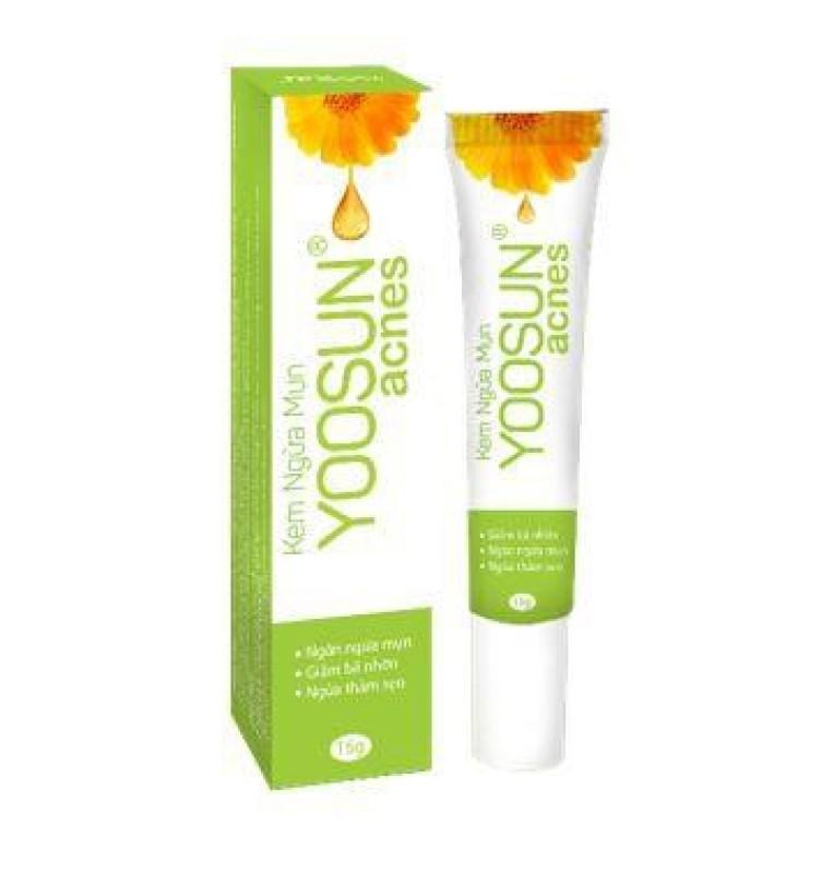 Kem ngừa mụn YOOSUN ACNES 15g - Ngăn ngừa và làm giảm mụn, làm mờ sẹo