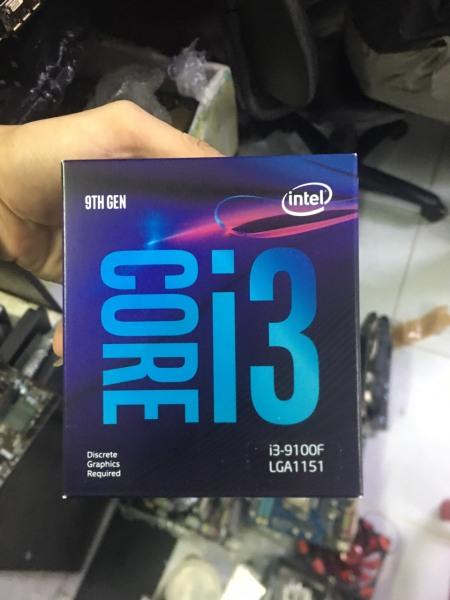 Bảng giá CPU Intel I3 9100F Box Chính hãng Phong Vũ