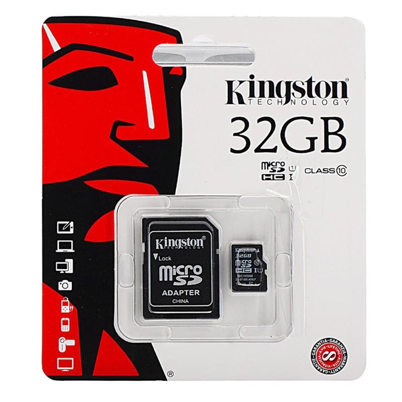 Thẻ Nhớ Kingston Microsd Class 10 - Bảo Hành 5 Năm!!!