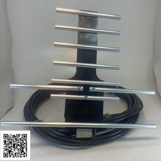 Anten thông minh thu sóng DVB T2 + 15m dây cáp + Jack nối (đen,trắng) thumbnail