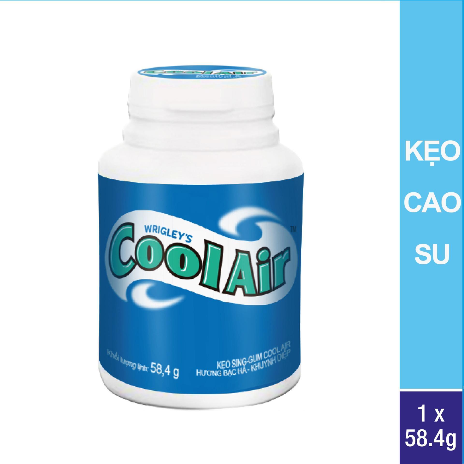 Kẹo cao su Cool Air M&E hũ 40 viên