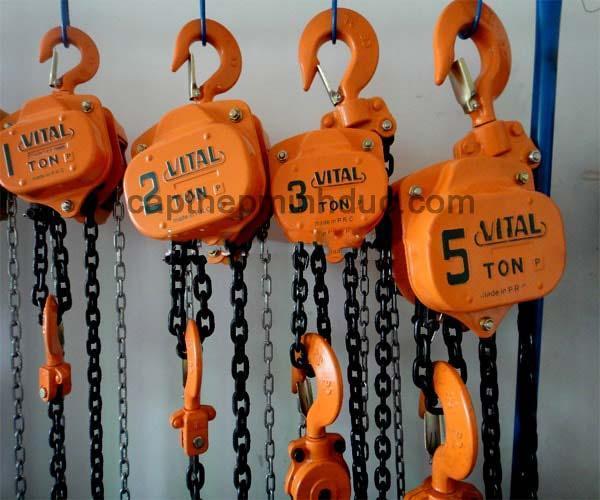 [Trả góp 0%]Palang Kéo Tay Vital - ABG SHOP Tải trọng thử vượt tải: 4.5 tấn Bảo hành : 12 tháng