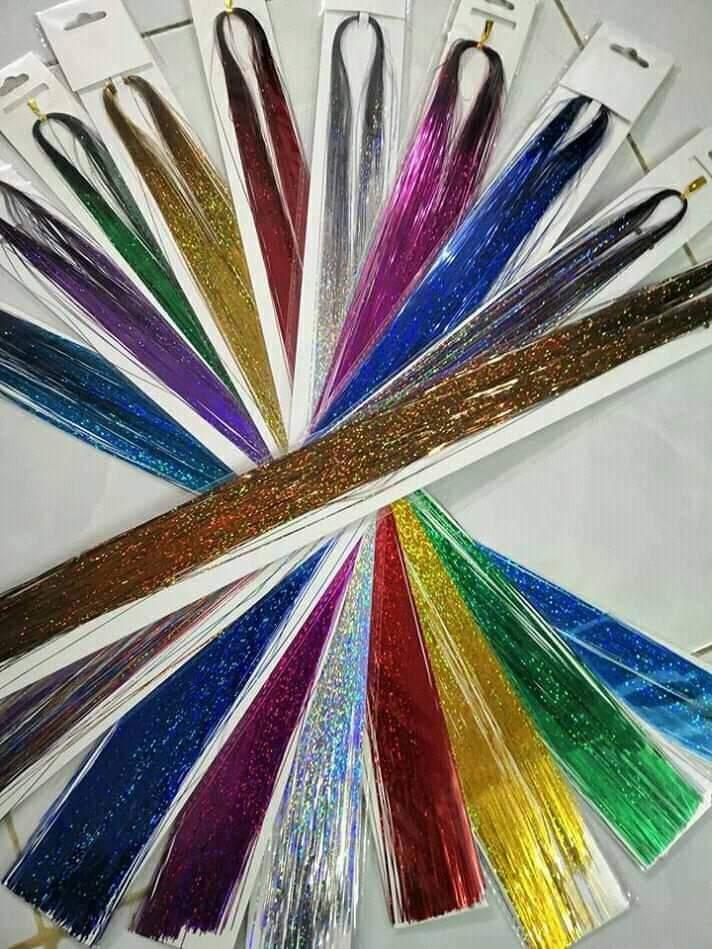 Sỉ 20line kim tuyến dạng sợi( trên 150 sợi/ bịch) DLSN_003S20 nhập khẩu