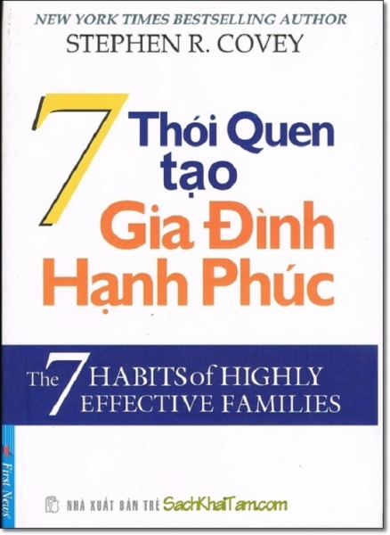 nguyetlinhbook - 7 Thói Quen Tạo Gia Đình Hạnh phúc